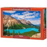 Puzzle Lacul Peyto - Canada, 500 piese