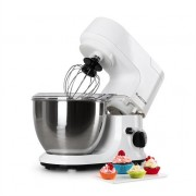 Klarstein Carina Bianca Food Processor Mixer 800W ,1.1 HP 4L White