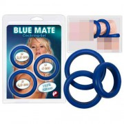 You2Toys [3 Pack] Silicone Rings Blue 0521477