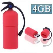 4GB Extinguisher Style USB Flash Disk