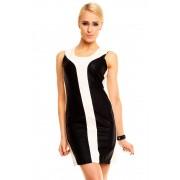 Dámské letní šaty Sweewë černo-krémové