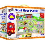 Giant Floor Puzzle Galt Orasul 30 piese Multicolor