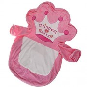Homyl Caso de Sofá Bolsa de frijoles para Niños Cubierta de Sillón Bebé Funda de Silla Adorable Diseño de Animal # 1 rosa