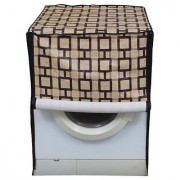 Dream Care Printed Waterproof Dustproof Washing Machine Cover For Front Loading Haier HW60-1279 6 KgWashing Machine