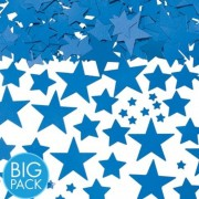Confetti stelute albastre din hartie pentru party si evenimente