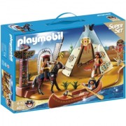 Playmobil Western set Indijanci PM-4012