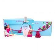 ESCADA Sorbetto Rosso confezione regalo eau de toilette 100 ml + lozione per il corpo 150 ml + trousse per cosmetici da donna