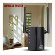 Wireless-N 300Mbps Extensor Repetidor WiFi 2 Puertos De Router Inalámbrico De Viaje Inicio