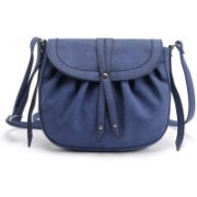Eligance Girls and Women Sling Bag… Sling Bag(Blue, 2 inch)