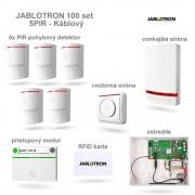 JABLOTRON 100 set 5xPIR Káblovy systém