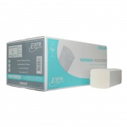 Euro Products Handdoek 50669 5ds ECO 21x24cm zigzag tissue wit 2laags 5doos a3184st (P50669-5)