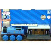 Thomas & Friends Wooden Railway Thomas & Toby (2 Pack)