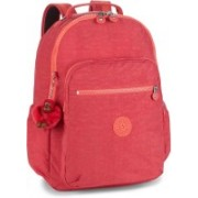 Kipling SEOUL UP Punch Pink C,F 25 L Backpack(Pink)