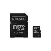 Cartão de Memória MicroSDHC 8GB Classe 4 com Adaptador SD - Kingston