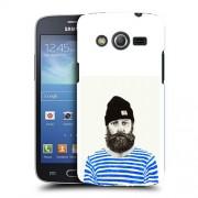 Husa Samsung Galaxy Core 4G LTE G386F Silicon Gel Tpu Model Abstract Man V3