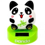 Solar Power Motion Toy - Panda, Round