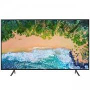 Телевизор Samsung 75NU7102, 75 инча 4K UHD (3840x2160) LED, HDR, 1300 PQI, Mega Contrast, DVB-T2CS2, WI-FI, 3xHDMI, 2xUSB, черен, UE75NU7102KXXH