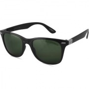Laurels Donnie UV Protected Wayfarer Sunglasses - Black Lens - Ls-Dne-040202