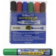 Marker pentru tabla de scris ARTLINE 517 varf rotund 2.0mm 6 culori-set