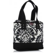 Home Heart Carry All Black Shoulder Bag