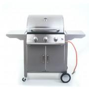 Plynový gril G21 Oklahoma, BBQ Premium Line 3 hořáky + zdarma redukční ventil G21
