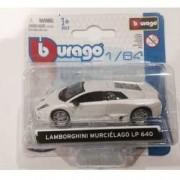 Macheta auto Lamborghini Murcielago LP640 2006 1 64 - alb metalizat