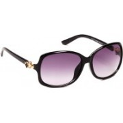 Ted Smith Over-sized Sunglasses(Grey)