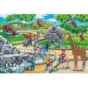 Puzzle Schmidt - O zi la Gradina zoologica, 3x24 piese, include 1 poster (56218)