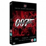 James Bond Ultimate Edition - Dr. No/live And Let Die/die Another Day