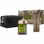 Bulgari Wood Essence Eau de Parfum 100ml+after shave balm 100ml+Pouch - Cofanetto regalo
