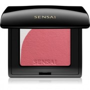 Sensai Blooming Blush colorete iluminador con pincel tono 01 Blooming Mauve 4 g