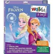 Wall Art Box Set: Magic Pen & Sticker Puzzles - Disney Frozen
