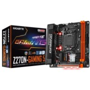Tarjeta Madre Gigabyte mini ITX GA-Z270N-GAMING 5, S-1151, Intel Z270, USB 3.0, 32GB DDR4, para Intel