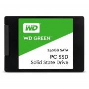 """UNIDAD SSD WESTERN DIGITAL WDS240G2G0A 240GB GREEN 2,5"""" SATA"""