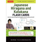 Japanese Hiragana and Katakana Flash Cards Kit: Learn the Two Japanese Alphabets Quickly & Easily with This Japanese Flash Cards Kit (Audio CD Include