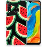 Huawei P30 Lite Uniek TPU Hoesje Watermelons