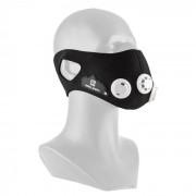 Breathor Atemmaske máscara para treino em altitude tamanho L, pretas com 7 peças adicionais