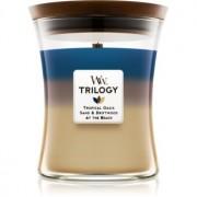 Woodwick Trilogy Nautical Escape lumânare parfumată cu fitil din lemn 275 g