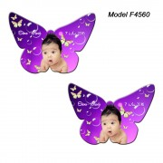 Magnet Personalizat Fluture