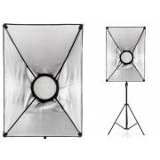 Lampa LED Softbox 50x70cm 168 LED 48W z dyfuzorem