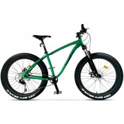 Bicicleta City Pegas Fat Bike Suprem Verde