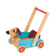 Janod Crazy Cart Gåvagn- Hund