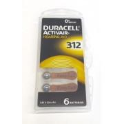 DURACELL 6er Pack ActivAir Typ 312