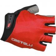 Castelli Entrata Gloves - Red - XL - Red