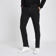river island Mens Black skinny fit smart trousers (34R)