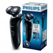 PHILIPS S510/12 Afeitadora eléctrica doble cabezas de lavado recargable 100 240 V cuidado facial Barbero azul para hombre máquina afeitadora(S510)
