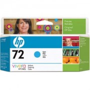 HP 72 (C9371A) 130 ml Cyan Ink Cartridge with Vivera Ink