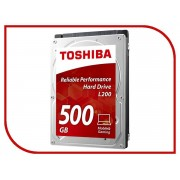 Жесткий диск 500Gb - Toshiba L200 HDWK105UZSVA