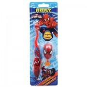 Periuta de Dinti pentru Copii - Spiderman cu Capac si Ventuza - Soft