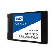 DISCO DURO SÓLIDO WESTERN DIGITAL BLUE 3D NAND 250GB - SATA 3 - 2.5' / 6.35CM - LECTURA 550MB/S - ESCRITURA 525MB/S
